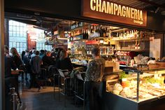 Champagneria Bodega, Mathallen Oslo