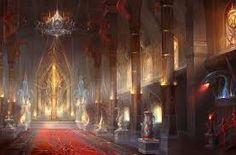 evil castle fantasy dark concept medieval landscape lair throne anime cartoon interior google park rpg places conceptual against