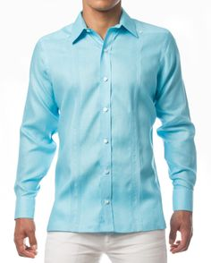 #Guayabera #lino natural.