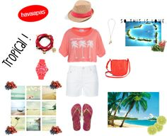 """Tropical"" by ajengsw7 on Polyvore"