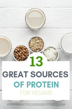 These are the best high protein plant based foods Plant based protein sources, vegan protein sources, vegetarian protein sources, whole foods plant based protein, high protein foods for vegans Vegetarian Protein Sources, High Protein Vegan Recipes, Ideal Protein, Protein Foods, Healthy Protein, Curb Appetite, Plant Based Protein, Food Places, How To Cook Quinoa