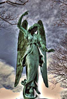 Angelic Apotheosis | by willkommen. Calvary Cemetery