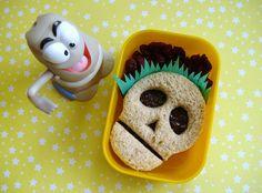 #Skull Bento halloween food ideas http://babycoupon.biz/halloween