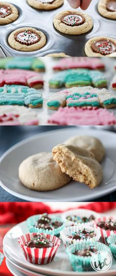 The BEST Christmas Cookies recipes - #holidaybaking #Christmas #baking #cookies #recipes