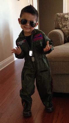 Child Top Gun Costume - Maverick