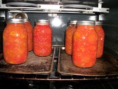 Canning Tomatoes In The Oven