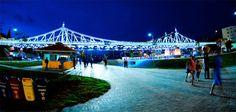 Largo do Mestre Chico, excelente lugar pra passear e prática atividade física, fica localizado próximo ao centro histórico de Manaus.