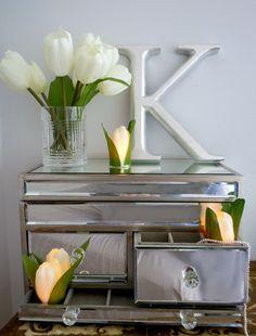 Candle Impressions Flameless Candle Blog : DIY Tulip Tea Lights