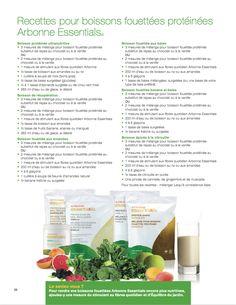 Miam! Recettes pour boissons fouettées protéinées! #Arbonne Essentials Arbonne Nutrition, Shake, Fibres, Cantaloupe, Arbonne Products, Gmail, Baking, Fruit, Eat
