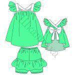 Готовые Выкройки Детской Одежды/ Блузки, Рубашки, Топы, Кофты | Шкатулка