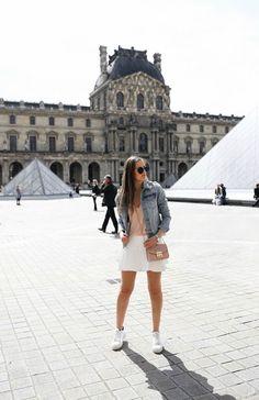 OOTD - The Louvre - Paris