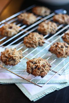 Loaded Breakfast Cookies - totally easy cookies stuffed with healthy and delicious ingredients. Make a double batch and freeze the extras fo...