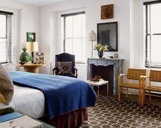 Nate Berkus Bedroom....outstanding eclectic decor