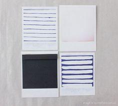 polaroid card set