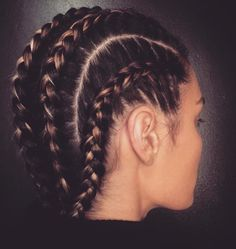 Tight braids                                                                                                                                                                                 More
