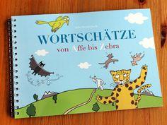 ein buntes und fröhliches Bilderbuch von A-Z ! Ein Spaß für Groß und Klein, ob zum Schulanfang, zu Ostern oder einfach nur so. Jeder der Spaß an Sprache hat, wird es lieben. Alliterationen von die frizzles auf DaWanda.com