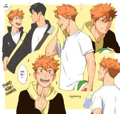 Older Hinata>>> It is great because while the art is of him in his 3rd year it is the same facial expressions