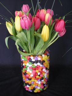 Happy Easter to All!  And to All a Happy Spring!  Thought you might enjoy a few cute spring arrangements!  And a few even cuter Joplin Japhe...