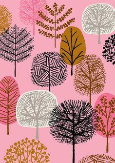 楽天市場】ELOISE RENOUF | NEW FOREST PINK | A3 アートプリント ...