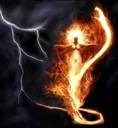 Mari, the Basque Wind Goddess, Brings a Gift Oya Goddess, Divine Goddess, Earth Goddess, Mother Goddess, Goddess Art, Goddess Warrior, Sacred Feminine, Divine Feminine, Feminine Energy