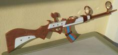 Caitlyn's gun - Fusil de League of Legends by GothxLuciole on DeviantArt