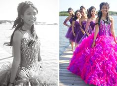 quinceanera photography at a pier - Google Search