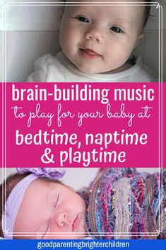 Playing classical music, songs, and singing to your baby is an important vehicle for early language development as well as a way to communicate love to your child. Included are lists of music to play for your baby at bedtime, naptime, & playtime. Music Activities For Kids, Music For Kids, Infant Activities, Learning Activities, Good Music, Kindergarten Learning, Music Education, Health Education, Physical Education