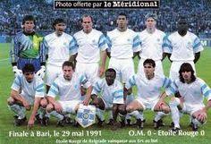 l'équipe de Marseille du temps où elle dominait l'Europe