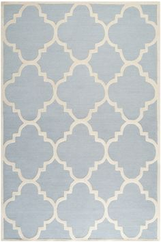 Safavieh Cambridge CAM-140 Light Blue, Ivory (A) Area Rugs