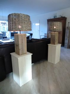 Terras van steigerhout planken