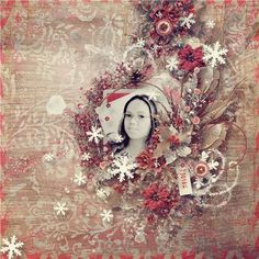 November 28.29 Daily Deal: Winter Cuddles by Valentina Pelliterri  #thestudio #digitalscrapbooking #dailydeal #layout #inspiration #Christmas