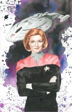 Captain Janeway Commission by JAWart728.deviantart.com on @deviantART