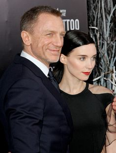 Daniel Craig and Rooney Mara 'The Girl With The Dragon Tattoo' they were cast perfectly