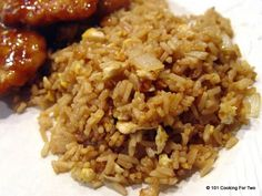 "An easy fried rice recipe using Minute Rice for that ""eat in"" Chinese meal. Done in with these easy step by step photo instructions. rice recipe easy chinese food soy sauce Easy Fried Rice in from 101 Cooking for Two Easy Rice Recipes, Asian Recipes, New Recipes, Cooking Recipes, Favorite Recipes, Healthy Recipes, Ethnic Recipes, Minute Rice Recipes, Minute Rice Fried Rice Recipe"