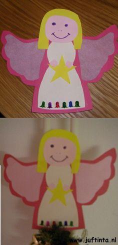 engeltjes met doorzichtige vleugels