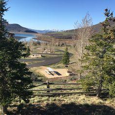 Spring camping at Jordanelle.
