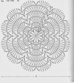 Issuu is a digital publishing Marque-pages Au Crochet, Mandala Au Crochet, Crochet Motif Patterns, Crochet Circles, Crochet Round, Crochet Chart, Crochet Dollies, Filet Crochet, Crochet Flowers