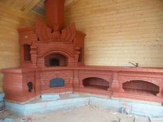 Kitchen rocket furnace with gargoyle Barbacoa, Wood Stove Cooking, Brick Masonry, Stove Fireplace, Bbq Area, Earth Homes, Brick And Stone, Architecture Details, Home Projects