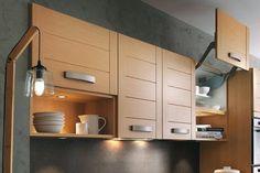 Sistemas de apertura para muebles altos: ¿por cuál decidirse? - Cocinas con estilo