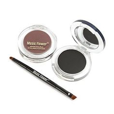 Tint Brown and Black Eyebrow Powder ** Read more reviews of the product by visiting the link on the image.