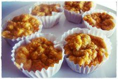 muffin de abobora e whey