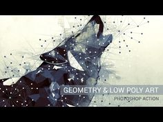 Geometry and Low Poly Art Photoshop Action Tutorial - YouTube