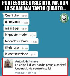 Funny Chat, Funny Jokes, Funny Images, Funny Photos, Verona, Funny Twilight, Italian Memes, Dont Forget To Smile, Don't Forget