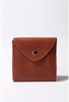 Wood Wood Small Flap Wallet