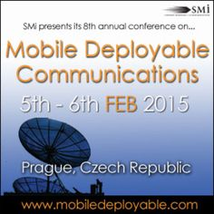 Mobile Deployable Communications at Marriott Hotel(V Celnici 8, Prague, 110 00, Czech Republic) on 5-6 Feb, 2014 at 9:00 am-5:30 pm. Mobile Deployable Communications will address the key topics of CIS networks and tactical communications, C4ISR standardisation, interoperability, operational experiences and future technologies. Category: Conferences | Government & Social Sector | Defence & Military. Price: £599-£1499.
