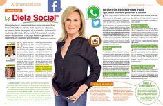 Una settimana di Dieta Social di Rosanna Lambertucci