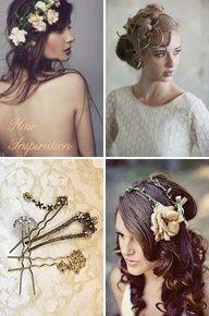 Beautiful Vintage Headpieces