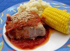 Pork Chops With Lemony Bread Crumbs