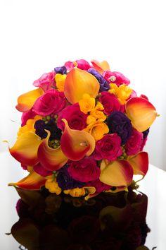 beautiful bright bouquet