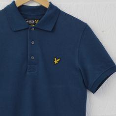 Lyle and Scott S/S Polo Shirt (Petrol) #lyleandscott #polo #shirt #menswear #newentry